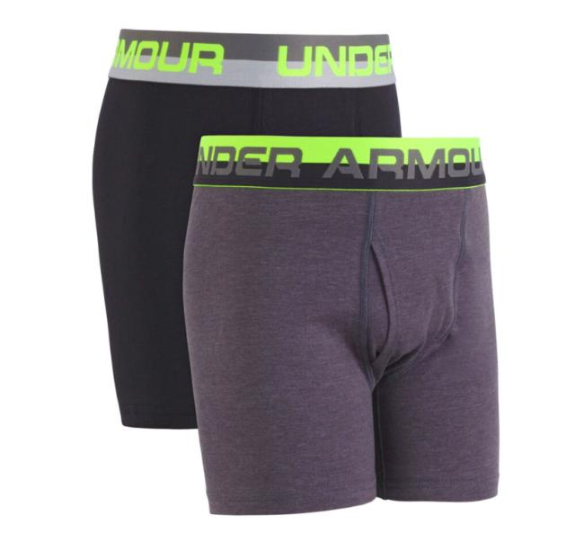 b72b102fbe Under Armour UA Original Series Boxerjock 2-pack Boys Underwear Y-large