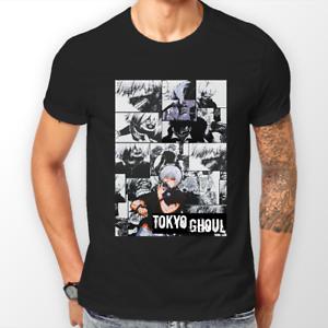 Striscia Anime Shirt Tokyo Unisex Tshirt Ghoul Manga Kaneki Ken T Iv7yfg6Ybm