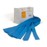 Textured Tourniquets 1 X 18 Single Bulk Bag Blue 250 Pk
