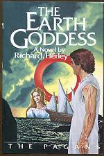 The Earth Goddess by Richard Herley-1st U.S. Edition/DJ-The Pagans Book III