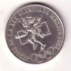 MEXICO 25 pesos plata Olimpiadas de Mexico 1968