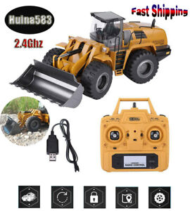 Huina583-1583-wheel-loader-Half-Metal-Excavator-Electric-Engineering-Vehicle-1
