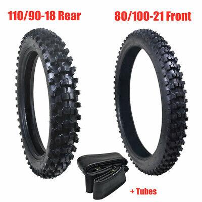 """110//90-18 4.10-18/"""" Rear Back Inner Tube For Pit Pro Trail Dirt Bike 50-150CC"""