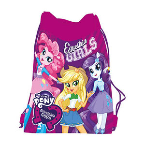 Equestria-Girls-My-Little-Pony-Shoe-Bag-Drawstring-Gym-Dance-Swim-Travel-MLP-EG