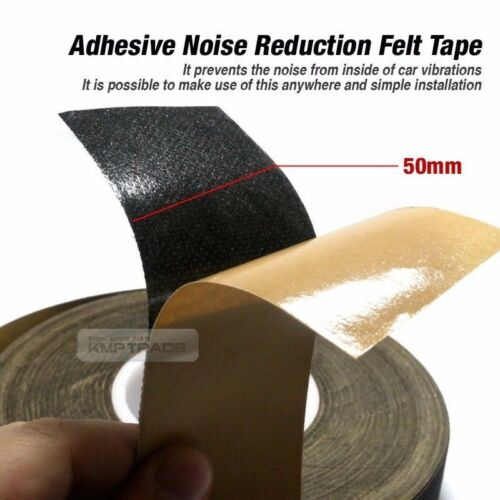 Car Auto Interior Adhesive Noise Reduction Felt Tape 2X39inch for NISSAN Car