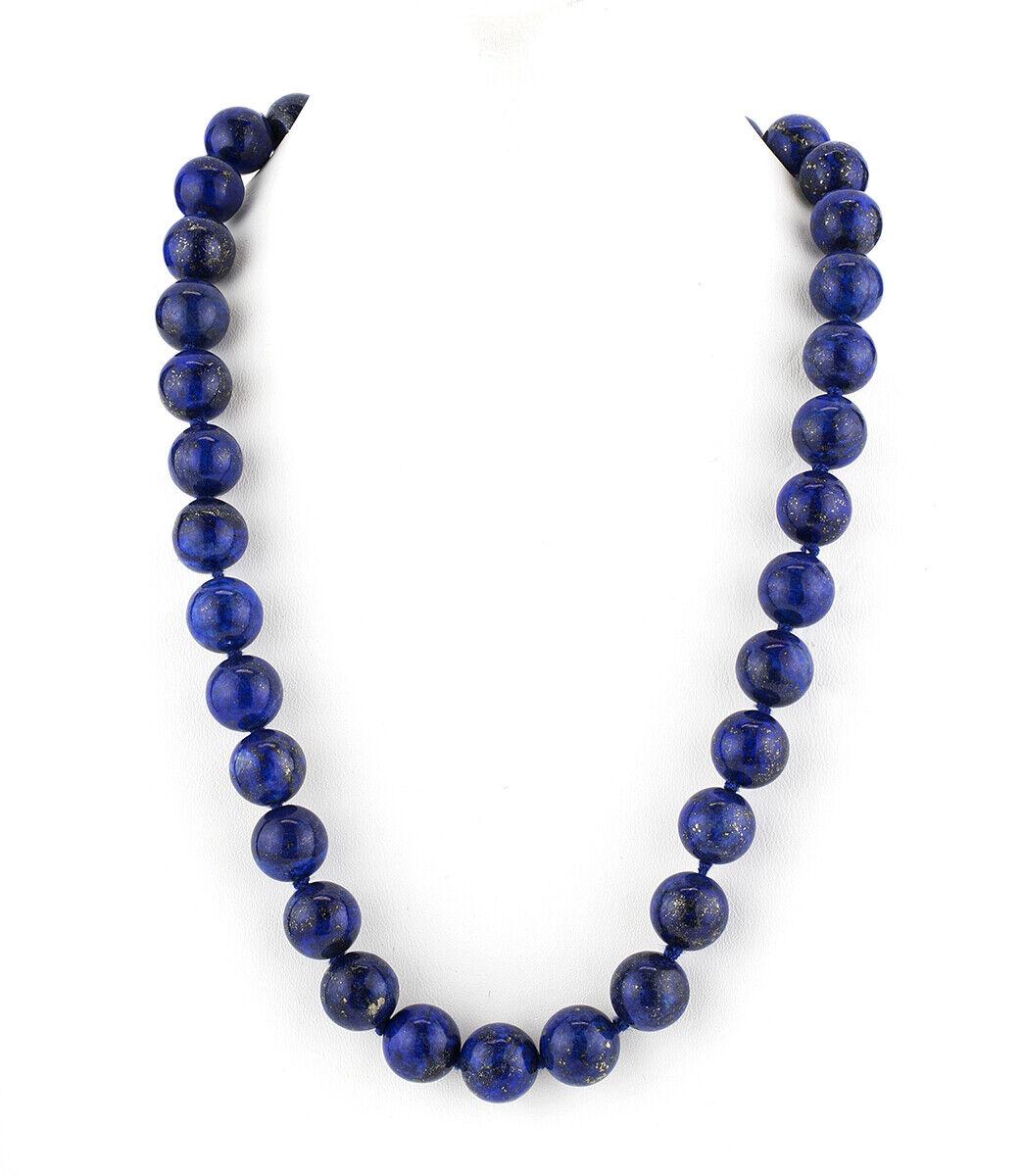 Collar Lapislblueis silver de Ley 925