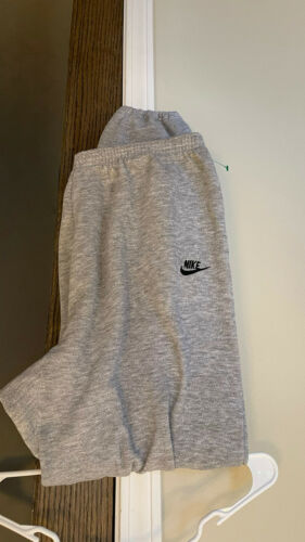 Vintage Men NIKE Sweatpants Gray XL Red Tag 90s
