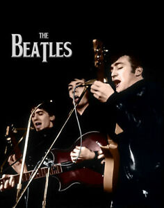The-Beatles-John-Lennon-Paul-McCartney-Photo-Print-14-x-11-034