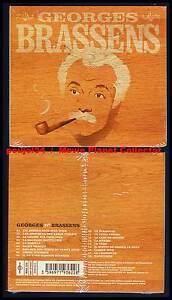 GEORGES-BRASSENS-034-18-Titres-Eternels-034-CD-Digipack-2004-NEUF