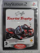 COMPLET jeu platinum TOURIST TROPHY sur playstation 2 sony PS2 game course moto