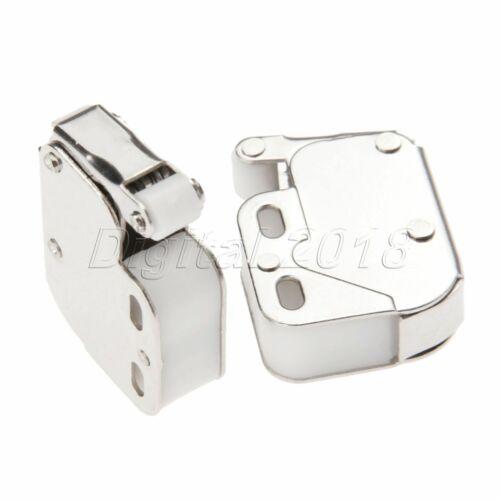 1pc//2pc Push To Open Mini Tip Catch Latch Lock Caravan Drawer Door Cabinet Latch