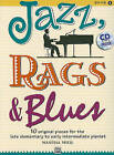 Jazz, Rags & Blues, Book 1  : 10 Original Pieces for the Late Elementary to Early Intermediate Pianist by Alfred Publishing Co., Inc. (Mixed media product, 2010)