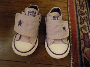 baby velcro converse