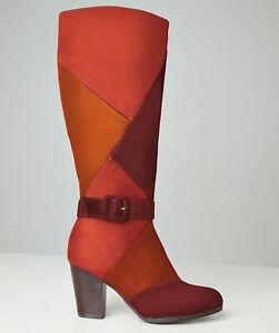 joe browns patchwork boots