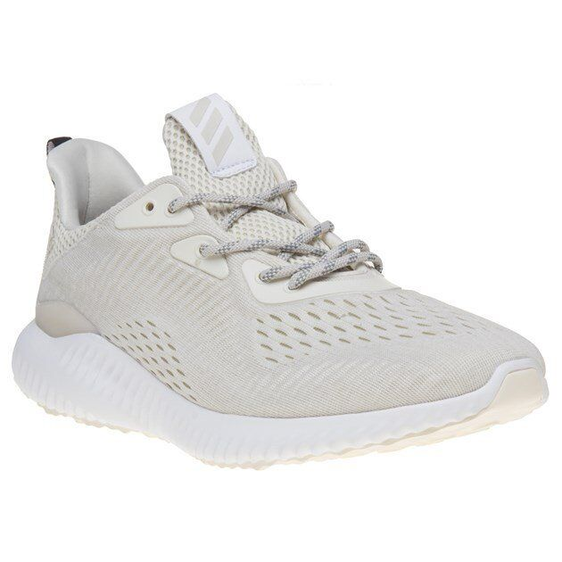 Nuova Uomo adidas bianco bianco adidas naturale alpha rimbalzare nylon formatori in stile merletto f265c0