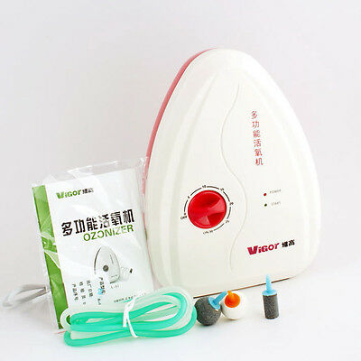Fruit Vegetables Food Active Ozone Generator Water Air Sterilizer Ozonizer O3 LN