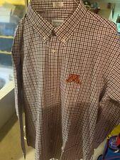 NCAA mens Ncaa Mens Campus Specialties Check Shirt,White//Royal//Platinum,Large