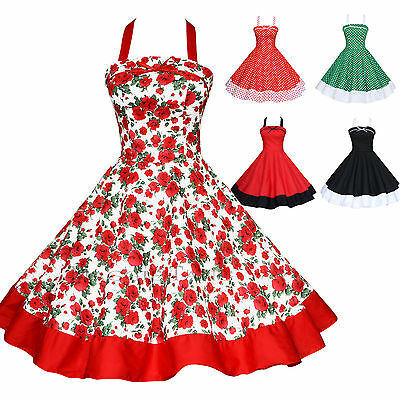 Maggie Tang 50s 60s Vintage Dancing Swing Jive Rockabilly Dress Skirt Ball Gown