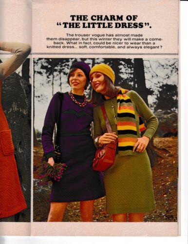 Mon Tricot Magazine Fashion Edition Fall//Winter 1972-1973