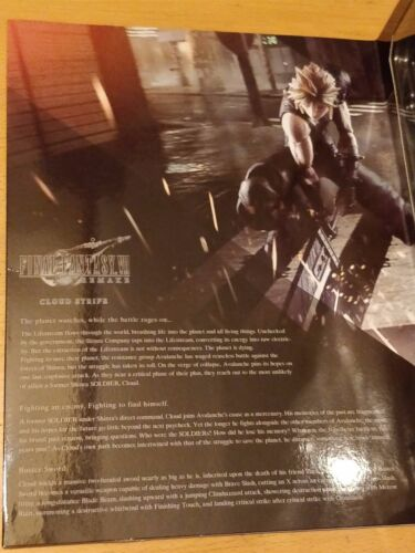 Square Enix Final Fantasy VII 7 Nueva versión Play Arts Kai Figura en la nube-Nueva Sellada