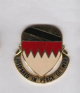 US Army 325th Support Bn Quartermaster QM Supply crest DUI badge G-23