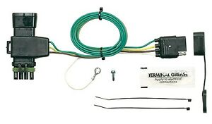 Details about Trailer Wiring Harness Plug-In Simple ~ Fits: Chevy/ on trailer mounting brackets, trailer brakes, trailer hitch harness, trailer plugs, trailer fuses, trailer generator,