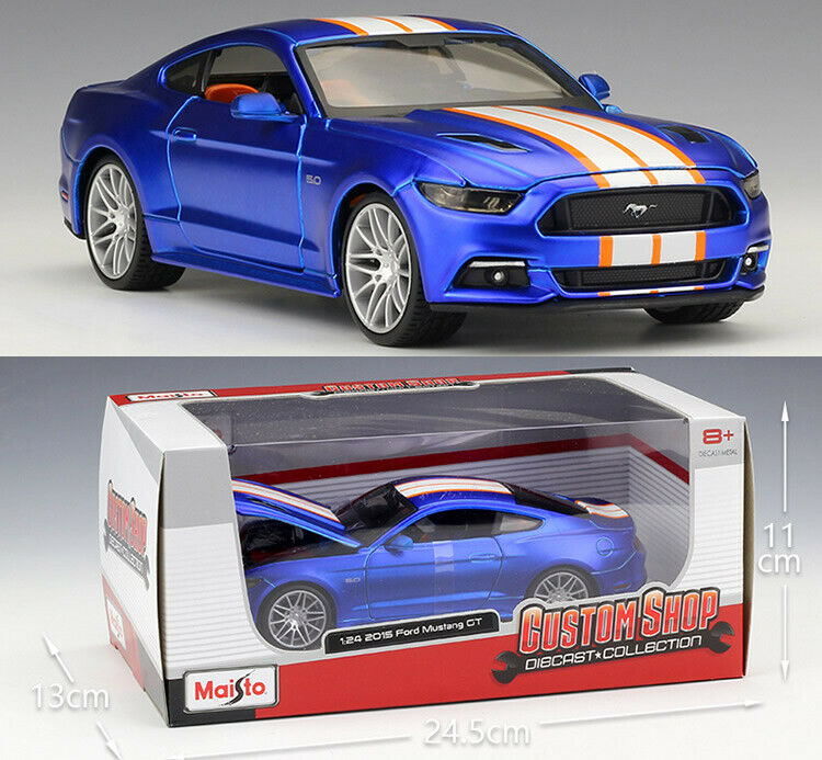 MAISTO 1 24 Ford 2015 Mustang GT Alloy Diecast Vehicle Car MODEL TOY GIFT NIB