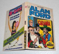 ALAN FORD 129 Caramba 1980 PRIMA EDIZIONE con ADESIVI Corno