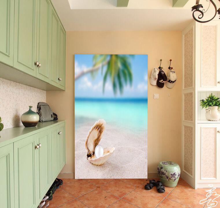 3D Perlen Strand 83 Tapete Wandgemälde Tapete Tapeten Bild Familie DE