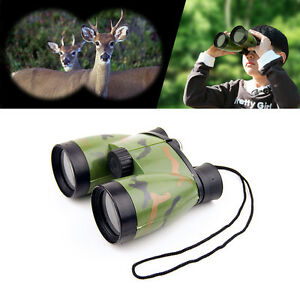 Kids-Toy-Telescope-Night-Vision-Surveillance-Compass-Binoculars-W-Neck