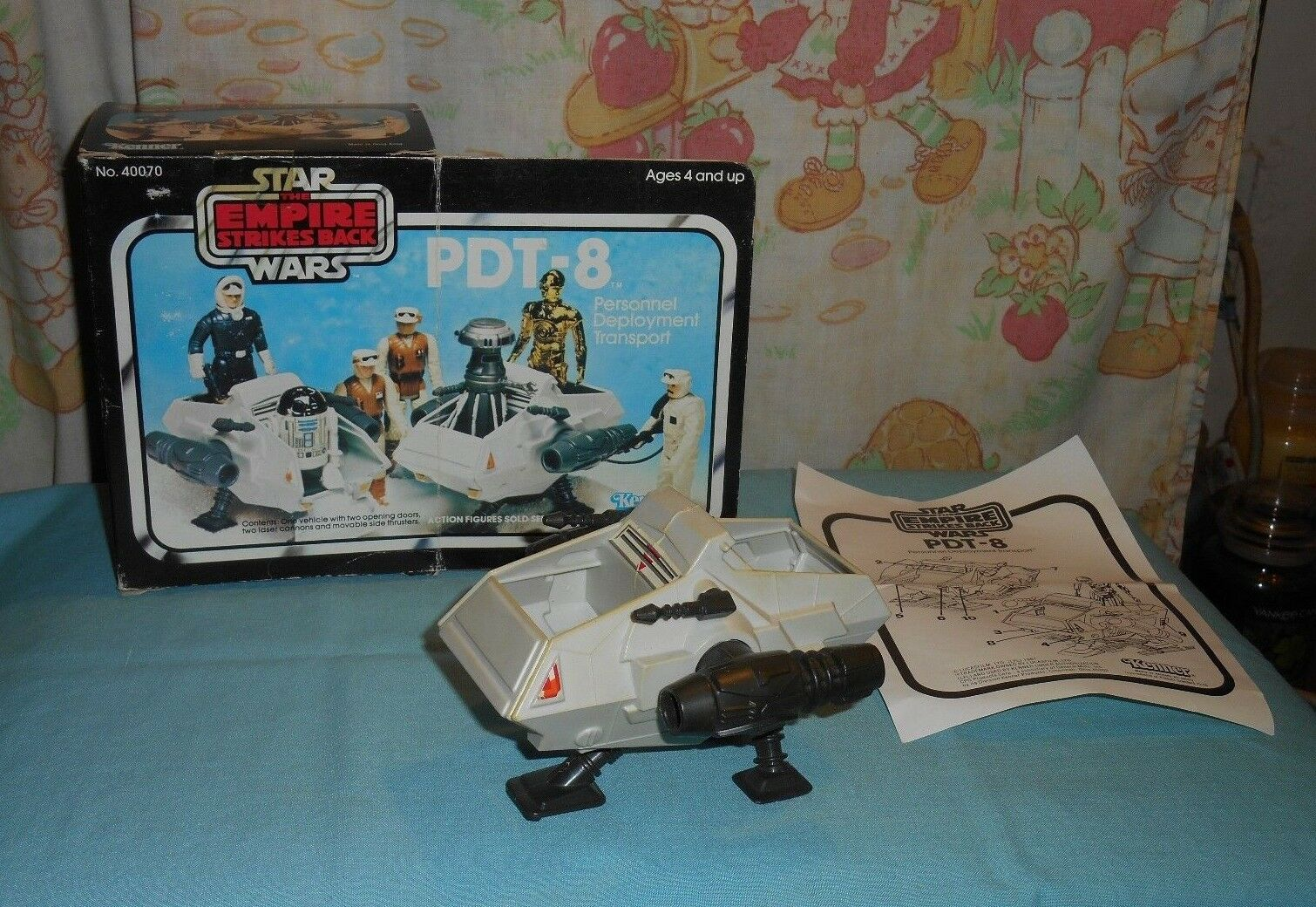 Vintage Star Wars ESB PDT-8 Personnel Deployment Transport mini-rig in box