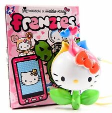 Tokidoki x Hello Kitty Frenzies FLOWER Zipper Pull Keychain Phone Strap Charm