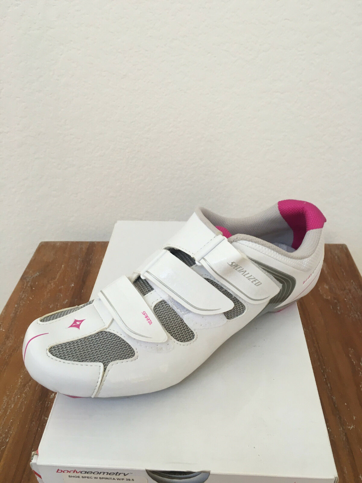 SPECIALIZED WOMEN'S SPIRITA ROAD CYCLING SHOE 2014-WHITE PINK