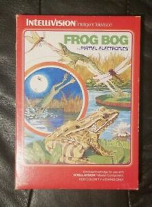 Frog-Bog-Mattel-Intellivision-Video-Game-Complete-in-Box