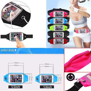 Sports Running Waist Belt Jogging Gym Bag Case Cover Holder For Mobile phone