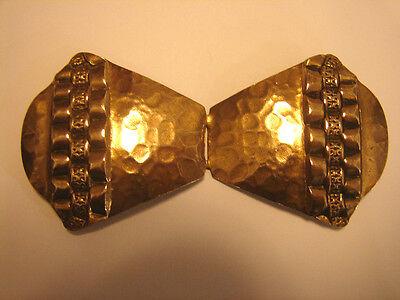 Goldfarben 9,3x4,6cm Schöne Gürtelschnalle Original Art Deko Zu Den Ersten äHnlichen Produkten ZäHlen