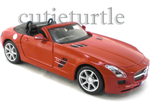 Maisto Mercedes Benz SLS 6.3 Amg Roadster 1:24 Diecast Red 31272