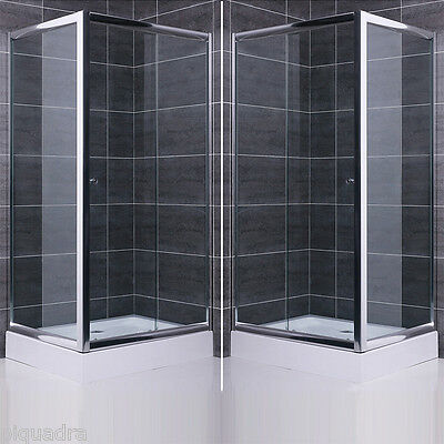Box doccia cabina arredo bagno fisso scorrevole vetro cristallo 6 mm trasparente