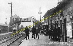 Sunderland Line. Leamside 1 Penshaw Fencehouses Railway Station Photo