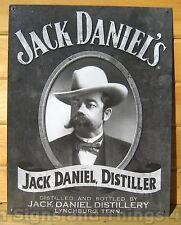 Jack Daniels Portrait TIN SIGN LICENSED REPRODUCTION metal poster bar decor 1622