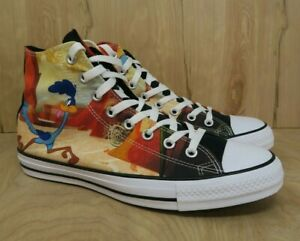 Details about Converse Chuck Taylor Looney Tunes HiTop Road Runner Coyote 161188C Men Size 7