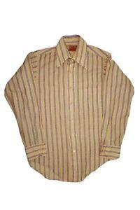 Vintage 70/'s Novelty Shirt  size S  by Van Heusen