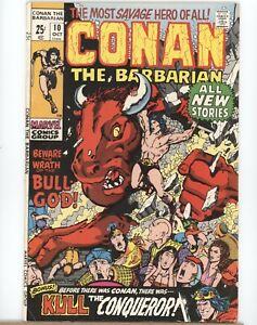 Marvel-Comics-Conan-The-Barbarian-10-1971-FN-to-FN