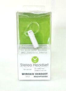Auricolare A2dp 1 Chiamate 4 Rettangolo Wireless Bluetooth Headset hsb Musica F41pqnFr