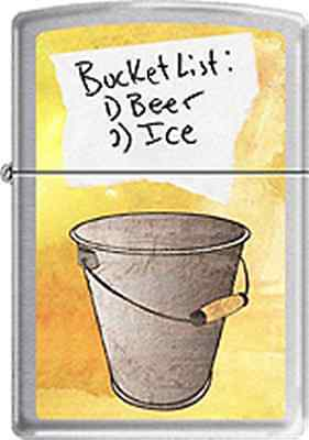 Zippo CM14261 bucket list RARE Lighter