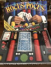 3 years old and up 1989 1991 Jumbo Vintage Hocus Pocus Magic Show game 30 tours tricks dice magic wand magician practice magic