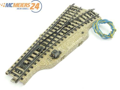 E57 Märklin H0 5204 M-Gleis elektr Weiche R rechts Note 2 *geprüft*