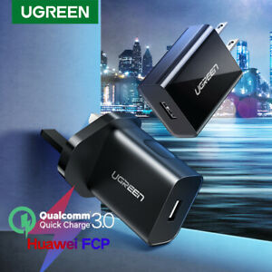 Ugreen-Quick-Charge-3-0-QC-18W-US-UK-USB-Charger-Fast-Charger-For-Samsung-iPhone