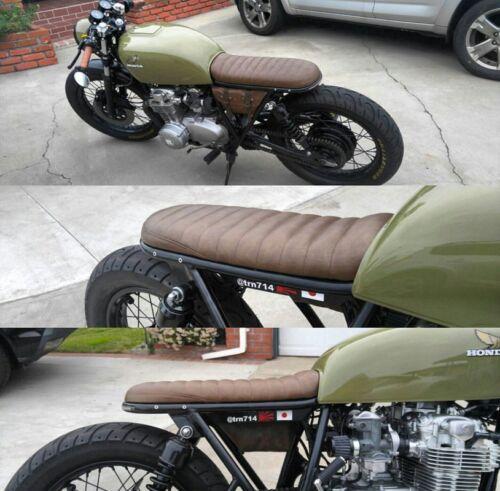 Custom Cafe Racer Brat Style Caterpillar Seat CB550 CB750 CB350 Yamaha Honda