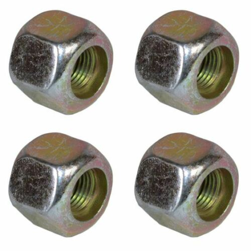 Pack of 4 3/8 UNF Wheel Nuts Nut For Trailer Suspension Hubs